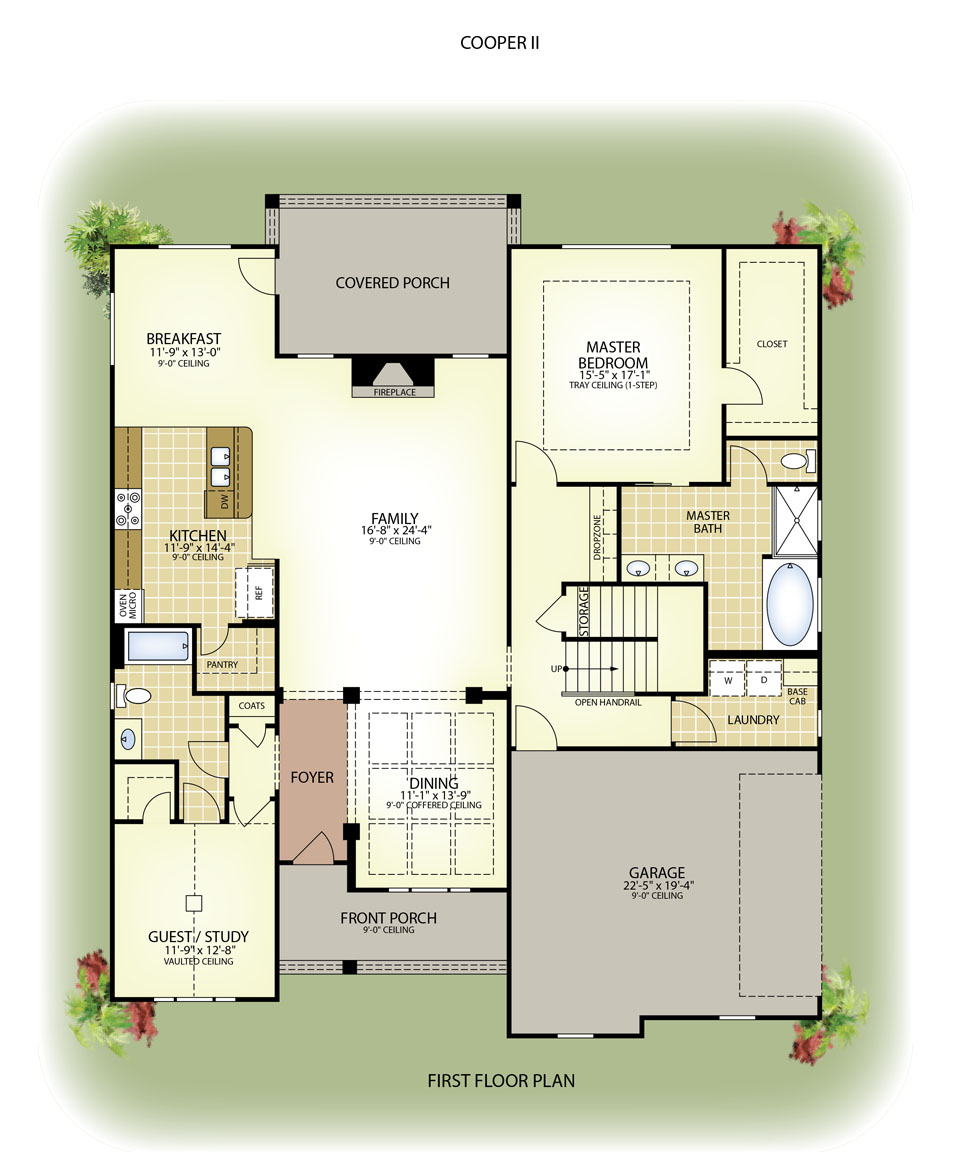 home builders floor plans - Zion Star