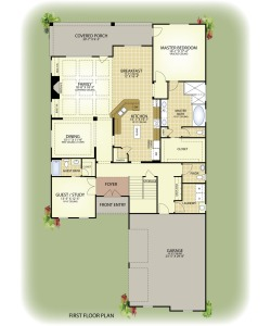 Executive Construction St Augustine first floor MLS