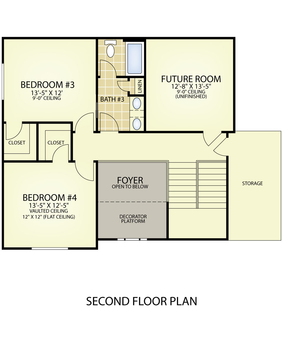 Custom And Designer Floor Plans Build On Your Lot