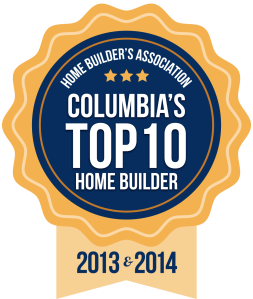 Top ten builder in columbia sc logo